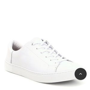 TOMS White leather sneakers - NEW in box!
